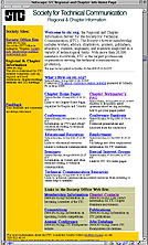 old STC Regional website image
