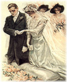 wedding in the 1900s